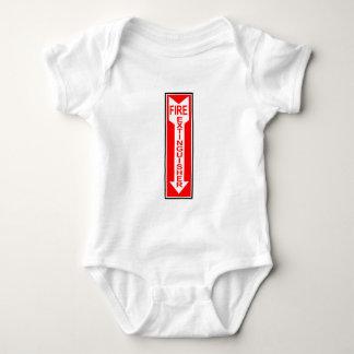 Fire Extinguisher Baby Bodysuit