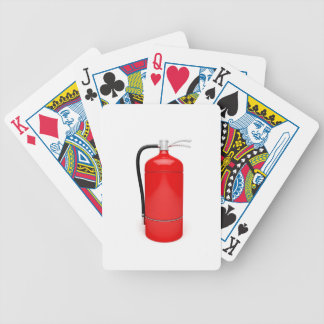 Fire extinguisher bicycle playing cards