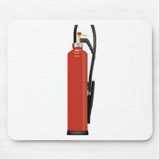 Fire extinguisher design mousepads