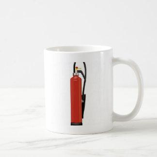 Fire extinguisher design mug