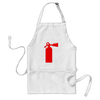 Fire extinguisher fire more extinguisher standard apron