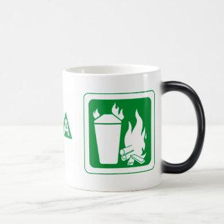 Fire Extinguisher Magic Mug