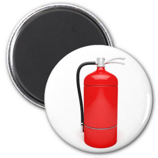 Fire extinguisher magnet