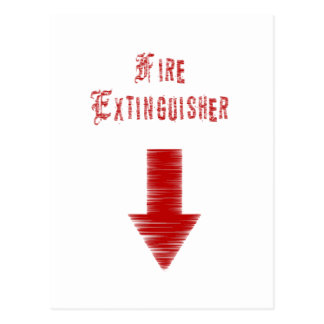 Fire Extinguisher Post Card