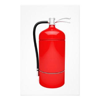 Fire extinguisher stationery