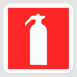 Fire Extinguisher Stickers / Labels