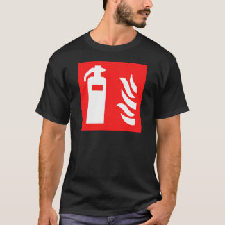Fire Extinguisher Symbol T-Shirt