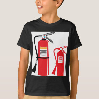 Fire extinguisher Vector T-Shirt