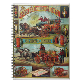 Fire Extinguishers and Chemical Engines Note Book