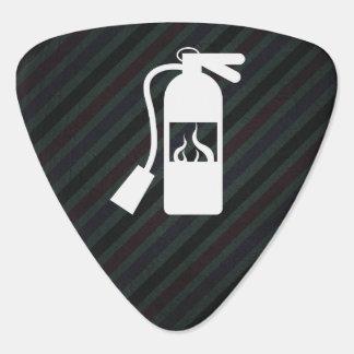 Fire Extinguishers Graphic Plectrum