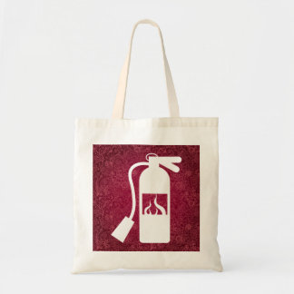 Fire Extinguishers Graphic Budget Tote Bag
