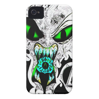Fire Face v3 for Blackberry Bold iPhone 4 Cases