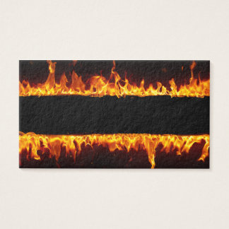Fire Fiery Flames Business Cards