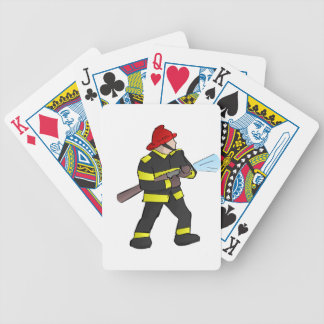 Fire Fight Bicycle Playing Cards