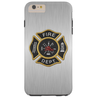 Fire Fighter Deluxe Tough iPhone 6 Plus Case