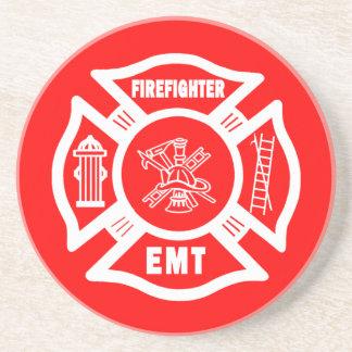 Fire Fighter EMT Coaster