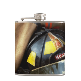 Fire Fighter - Hose company one Hip Flask