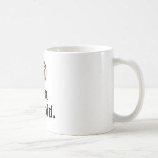 Fire Fighter, I fix Stupid Basic White Mug
