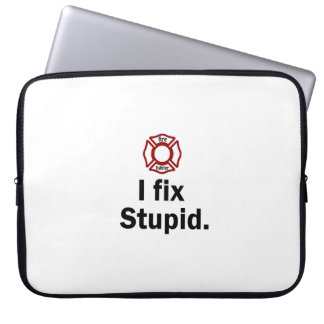 Fire Fighter, I fix Stupid Laptop Computer Sleeves