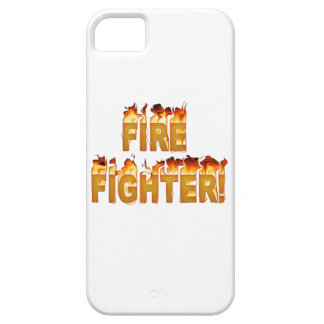 FIRE FIGHTER in Flames iPhone 5 Cases