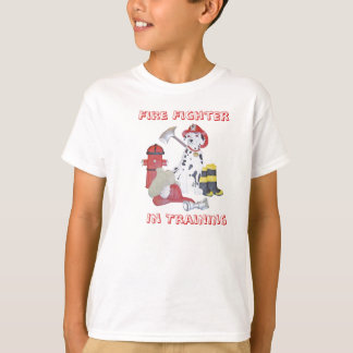 Fire Fighter In Training Kids T-Shirt