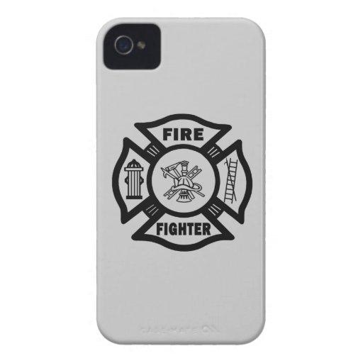 Fire Fighter Maltese Blackberry Bold Case