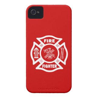 Fire Fighter Maltese Case-Mate iPhone 4 Case