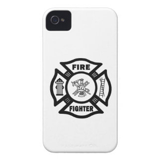 Fire Fighter Maltese iPhone 4 Case
