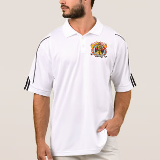 Fire Fighters Fear No Fire Polo T-shirts