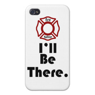 Fire fighter's, I'll be there Cover For iPhone 4