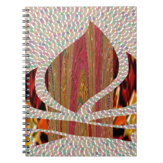 FIRE Flame symbol of SOUL POWER gifts fun festival Note Books