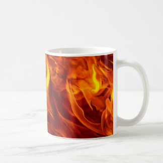 Fire & Flames Burning Fiery Gift Item Coffee Mug