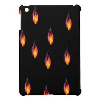 Fire flames iPad mini covers