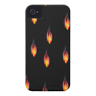 Fire flames iPhone 4 cases