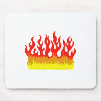 FIRE FLAMES MOUSEPAD
