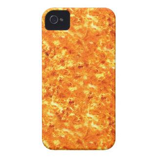 Fire Flames Photo Pattern Blackberry Case-Mate