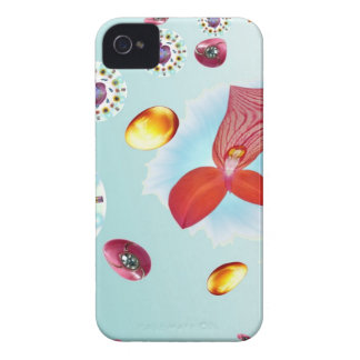 Fire Flower iPhone 4 Cases