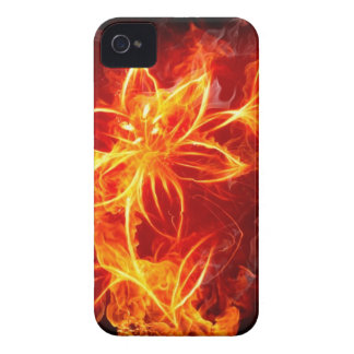 Fire Flower iPhone 4 Case-Mate Case