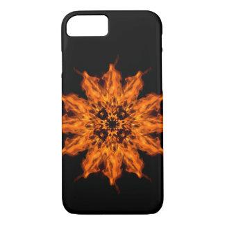Fire Flower Mandala Fire Art iPhone 7 Case