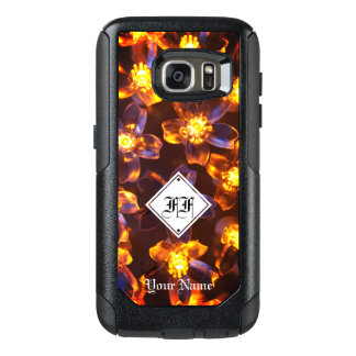 """Fire Flower"" String Lights OtterBox Samsung Galaxy S7 Case"