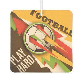 Fire Football Soccer Sport Ball Car Air Freshener