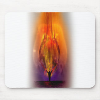 """Fire from Heaven"" Mouse Pad"