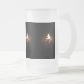 fire glass mug