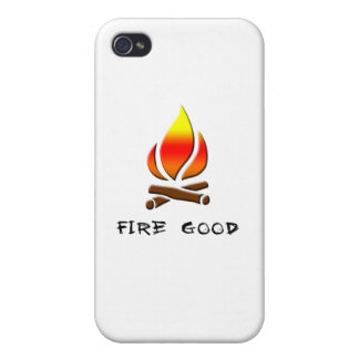 fire good iPhone 4/4S cover
