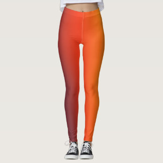 Fire Gradient Leggings