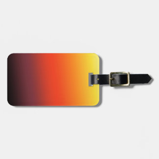 Fire Gradient Luggage Tag