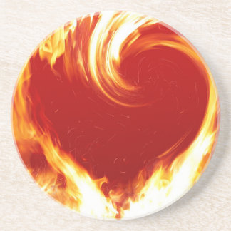 fire-heart coaster