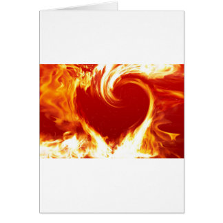 fire-heart greeting card