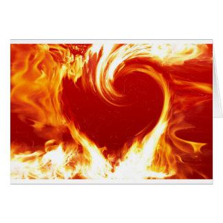 fire-heart greeting card