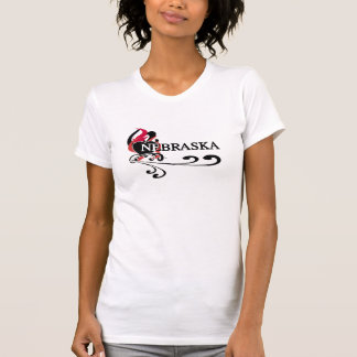 Fire Heart Nebraska T-Shirt